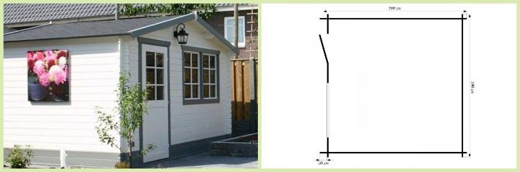 gartenhaus schweden 23 in dietikon kaufen bei. Black Bedroom Furniture Sets. Home Design Ideas