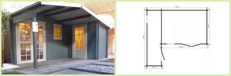 gartenhaus schweden 33 wandst rke 28mm in dietikon kaufen bei. Black Bedroom Furniture Sets. Home Design Ideas