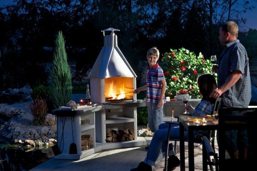 gartenh user saunen pergolas und kinderspielh user von gartenhaus grill aussenk che. Black Bedroom Furniture Sets. Home Design Ideas