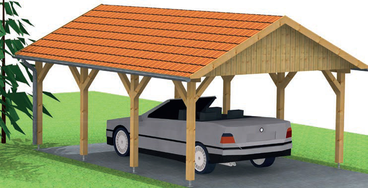 carport satteldach amazing mit with carport satteldach top carport satteldach with carport. Black Bedroom Furniture Sets. Home Design Ideas
