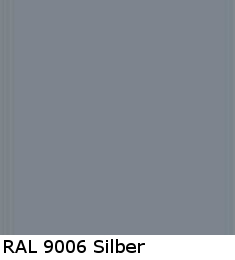 RAL 9006 Silber